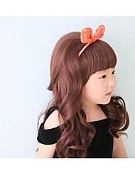 Beautiful Long Curly Princess Wig for Kid