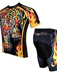 PALADIN® Cycling Jersey with Shorts Men's Short Sleeve Bike Breathable / Quick Dry / Ultraviolet ResistantJersey + Shorts / Clothing