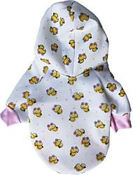 PAPAPIA Pet's Cartoon Pattern Fleece T-Shirt
