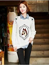 Women's Horse Pattern Sweater