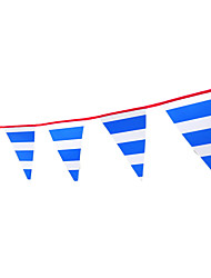 Wedding Party Vintage Style Decorative Flags And Blue-And-White England Pennant