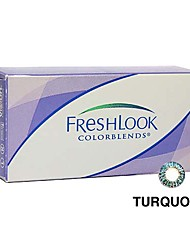 Ciba FreshLook Colorblends Turquoise (2 lens / box)(Zero Degree)
