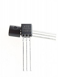 3-Pin Triode Transistor + Regulated Voltage IC 78L05 TO-92  DIY Project  (50-Piece Pack)