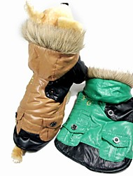 DT Pet  Fashional FG Jacket Style Cotton-padded Clothes Pet winter Apparel (Assorted Colors And Sizes)