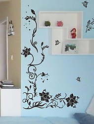 Wall Stickers Wall Decals, Livingroom Flower Home Decoration Poster PVC Wall Stickers