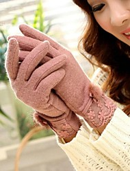 Women Fur/Lace/Wool Gloves , Cute/Casual