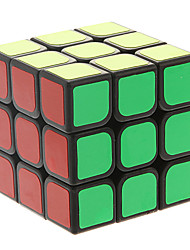 Magic Cube IQ Cube Three-layer Speed Smooth Speed Cube Magic Cube puzzle Black ABS
