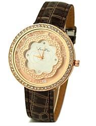 cinto soha flor strass relógios para as mulheres