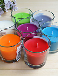 25 Hours Lasting Multi-fragrance Paraffin and Vegetable Wax Candle
