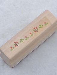 длинный деревянный штамп (трава)