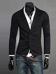 la moda masculina informal traje de dos botones