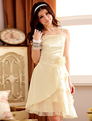 Women's Fashion Strapless Sleeveless Bridesmaid Dress/ Wedding Party Dress