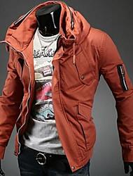 manlodi Männer koreanischen Stil schmal geschnittenen Jacke