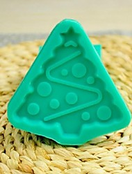 Christmas Tree Fondant Cake Chocolate Silicone Mold Cake Decoration Tools,L7.7*W7.7*H1cm