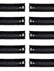 1X18650 Battery Case Holder with Pin for PCB Printed Circuit Board and More (10 PCS)