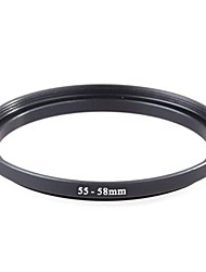 Neewer® 55mm to 58mm 55-58 mm Step Up Ring Filter Adapter (55MM Lens to 58MM Accessory)