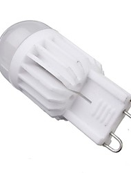 5W G9 Bombillas LED de Mazorca T 2 COB 380 lm Blanco Cálido / Blanco Fresco Regulable AC 100-240 V