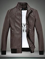 nouveau cuir vêtements pour hommes