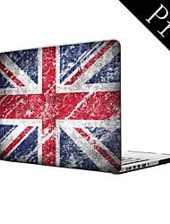 """diseño de la vendimia diseño de la bandera del Reino Unido de cuerpo completo caja de plástico protectora para el MacBook Pro de 13 """"/ 15"""" (no retina)"""