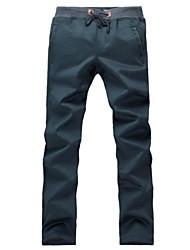 occasionnels coton sport pantalon des hommes
