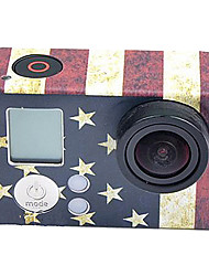 USA Flag Pattern Paster for GoPro Hero 3+/3
