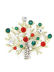 Christmas Gift Christmas Tree Brooch Brooches