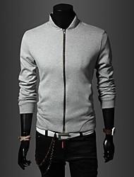 Men's Casual Slim Collar Jacket