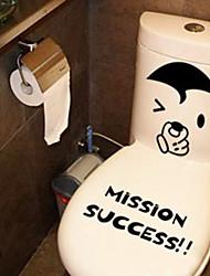 """""""o sucesso da missão"""" padrão higiênico impermeabilização decoração adesivos e6863"""