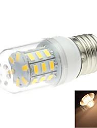 4W E26/E27 Bombillas LED de Mazorca T 30 SMD 5730 200 lm Blanco Cálido AC 100-240 V