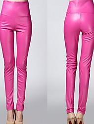 Chaoliu Women's Fashion Bodycon Solid Color Legging