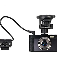 3.0 Inch FULL HD 1080P With Dual lens Car Driving camera DVR HDMI, AV Out Motion Detect