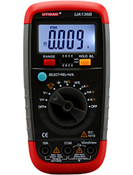 UA136B  Digital Multimeter with LED Backlight Automatic Range AC DC Voltage Current Resistance Capacitance