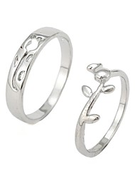 Fashion Rose Couple Rings Random Size