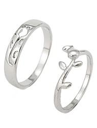 Fashion Rose Couple Rings Random Size