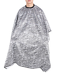 moda moderna preto e branco capa zebra corte de cabelo (1pc)
