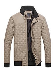 Mode Slim manches longues support collier de Hotta hommes Causual épaissir vestes
