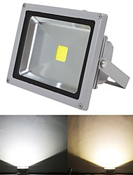 Waterproof 50W 5000LM 2800-7000K Cold White Light and Warm White Light LED Flood Lamp (85V-265V)
