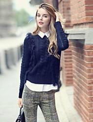 Frauen neue Stil, Mode, drei Stück Freizeit-Anzüge (Hemd&Pullover&Hosen)