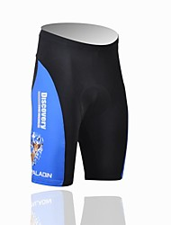 ILPALADINO Cycling Padded Shorts Men's Bike Shorts Padded Shorts/Chamois Breathable Ultraviolet Resistant Polyester LYCRA® Patchwork