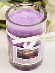 60 horas lavanda duradoura fragrância vela de parafina