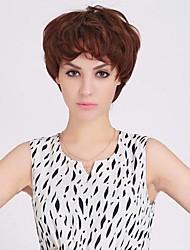 Fashion Characteristic Side Bangs Human Hair Wig