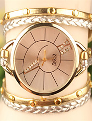 Sibyl Women's All Match Metal Circle Watch