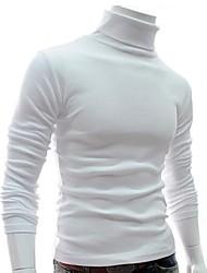 collier changé de couleur solide tricot pour hommes manlodi