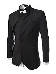 x-man Männer Stehkragen Langarm-Anzug
