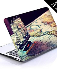 Pirate Ship Design Full-Body Protective Plastic Case for 11-inch/13-inch New MacBook Air