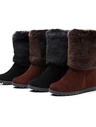 meados botas térmicas fashional das mulheres