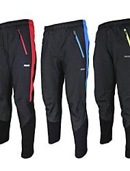 Arsuxeo Hombres Otoño/Invierno Ciclismo Pantalones PantalonesTranspirable/Diseño Anatómico/Listo para vestir/Resistente al