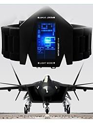 fraîche militaire Montre LED d'affichage lumineux coloré sport numérique montres de style de combat furtif