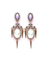 palais pierres précieuses boucles d'oreilles ms luxe femmes