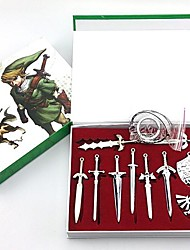The Legend of Zelda Master Sword model sleutelhanger (10st)